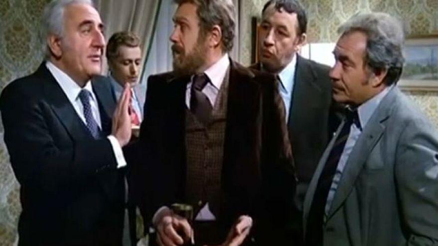 La lunga carriera dell'attore Gastone Moschin
