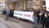 Começa julgamento de refugiado alemão acusado da morte de estudante