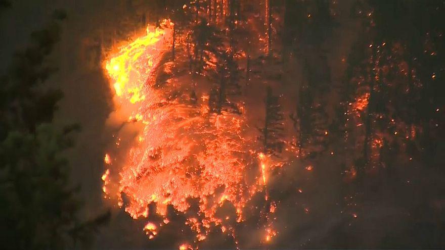 Oregon: Interstate aufgrund Buschfeuer gesperrt