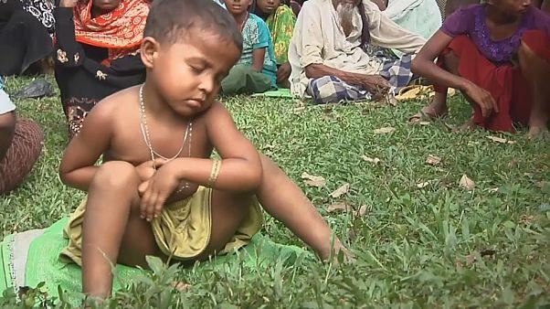 BM:123 bin Rohingalı mülteci Bangladeş'e sığındı
