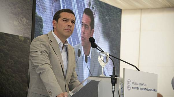 O Aλέξης Τσίπρας στην Ιονία Οδό: «Νέα εποχή με δίκαιη ανάπτυξη»
