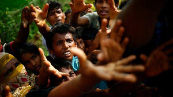 Human Rights Watch informa de que la persecución de los rohinyás es un crimen contra la humanidad