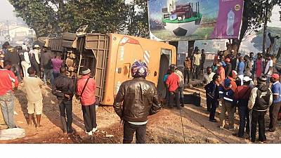 Cameroun : 116 cas d'accidents de la route en août