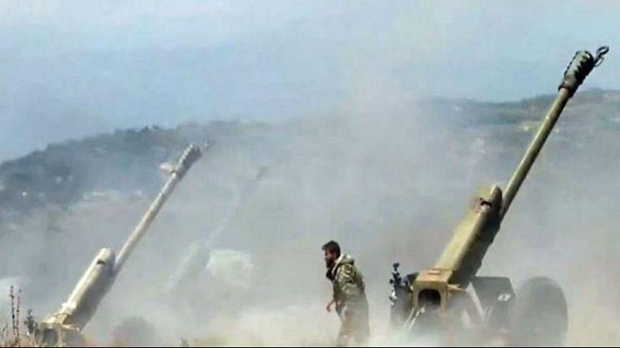 قوات الجيش السوري تتقدم من الناحية الشرقية لمدينة دير الزور