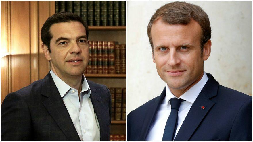 Ο Μακρόν στην Αθήνα: Η Δημοκρατία, το ευρώ και η γαλλική επιχειρηματική απόβαση