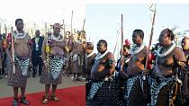 Zambia's Lungu joins King Mswati III at Swaziland's Reed Dance ceremony [Photos]