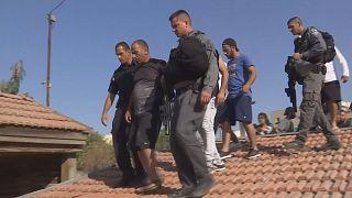 Палестинскую семью выселили из дома