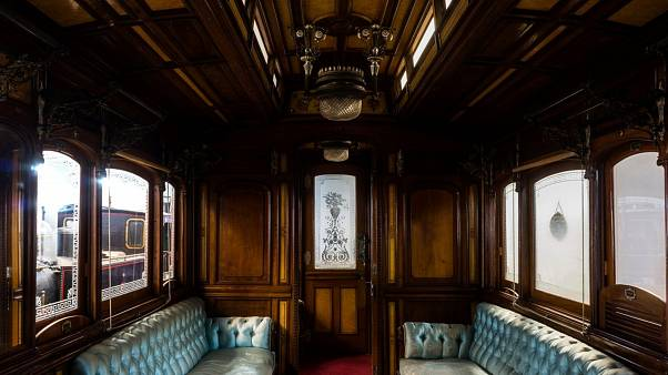 H Βασιλική Άμαξα Σιδηροδρόμων Θεσσαλίας «αποκαλύπτεται» στη ΔΕΘ