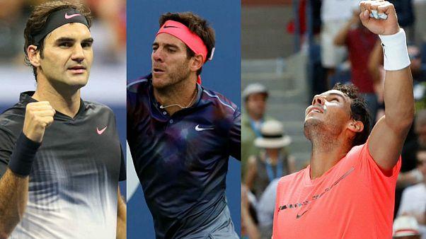 البطولة الامريكية المفتوحة للتنس: عمالقة التنس العالمي يواصلون زحفهم نحو التتويج