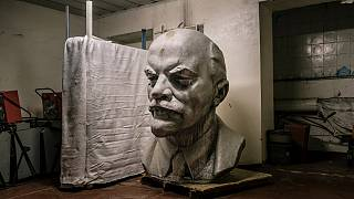 Darth Vader, Olympic athlete, and poet - the new faces of Lenin in Ukraine