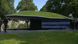 Denkmal für Olympia-Opfer von 1972 in München