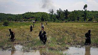 Éxodo masivo de rohinyás hacia Bangladés