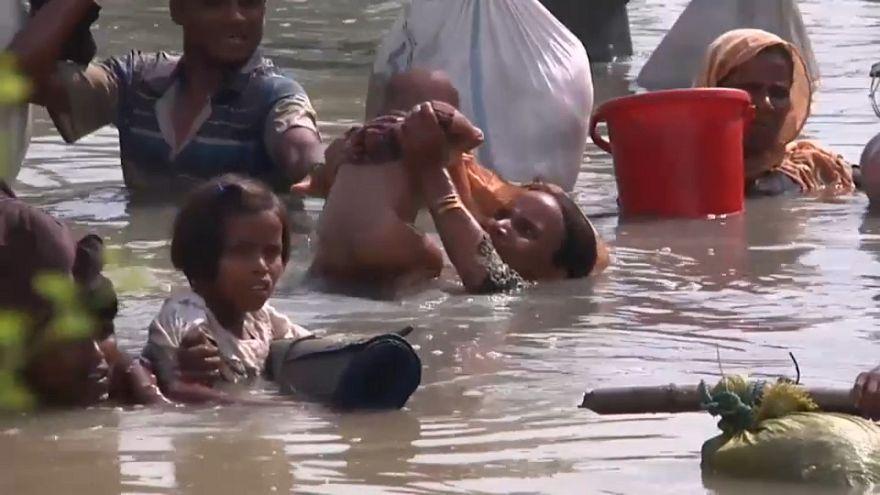 جحيم مسلمي الروهينجا: فرار 125 ألف شخص وسط تجاهل رسمي وقلق أممي