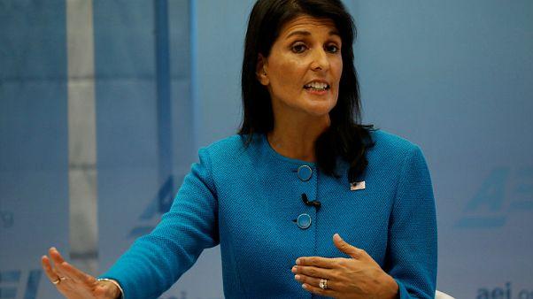 نیکی هیلی: عدم تایید پایبندی ایران به برجام به معنی خروج آمریکا از آن نیست