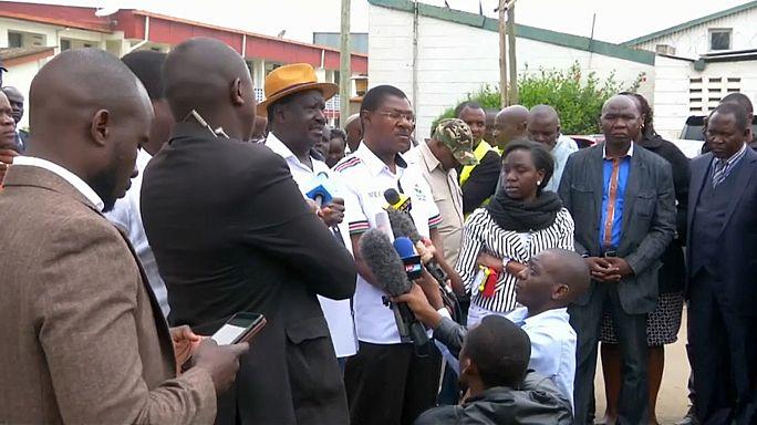 """Odinga rejeita novas eleições presidenciais sem """"garantias"""""""
