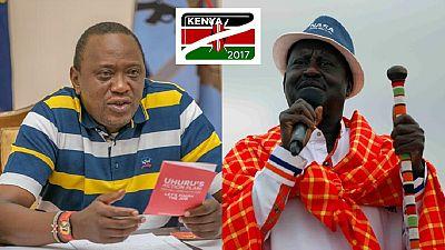 Elections will go on as planned- Kenyatta replies Odinga