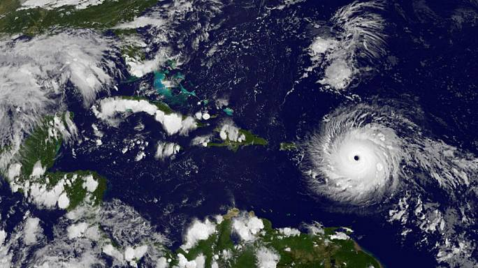 Alarmstufe Rot: Hurrikan Irma bedroht mit 285 kmh die Karibik