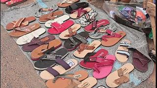 Young Nigerian entrepreneurs engage in shoe making to curb unemployment
