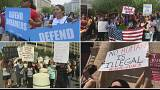 Protests greet Trump's scrapping of DACA