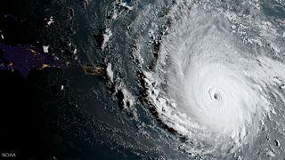 Furacão Irma assola Antigua e Porto Rico