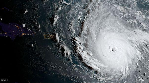 L'uragano Irma si abbatte sui Caraibi