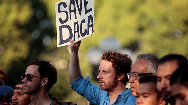 """Proteste gegen Ende des """"Dreamer""""-Programms"""