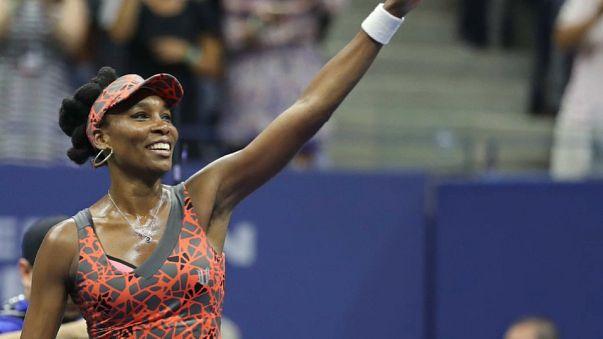 Venus de regresso ao firmamento do US Open