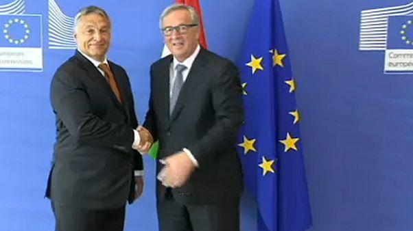 Juncker Orbánnak: a szolidaritás csak oda-vissza működik