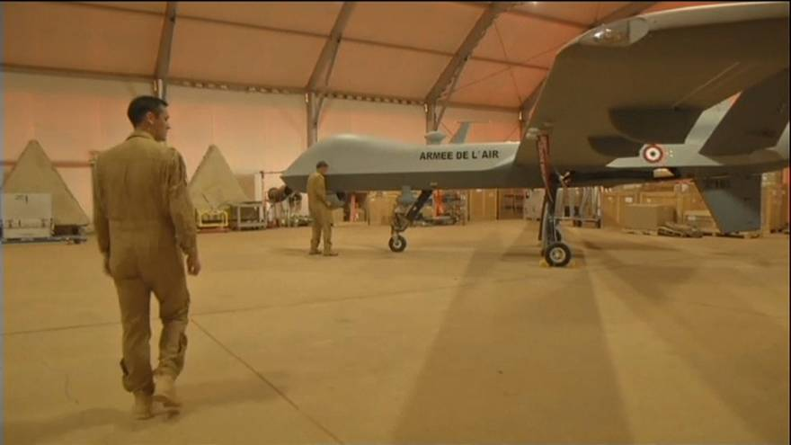 França vai ter drones armados até 2019