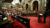 [Directo] El Parlamento catalán debate la aprobación de la ley de referéndum del 1-O