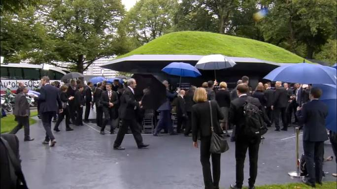 В Мюнхене открыт мемориал жертвам теракта на Олимпиаде
