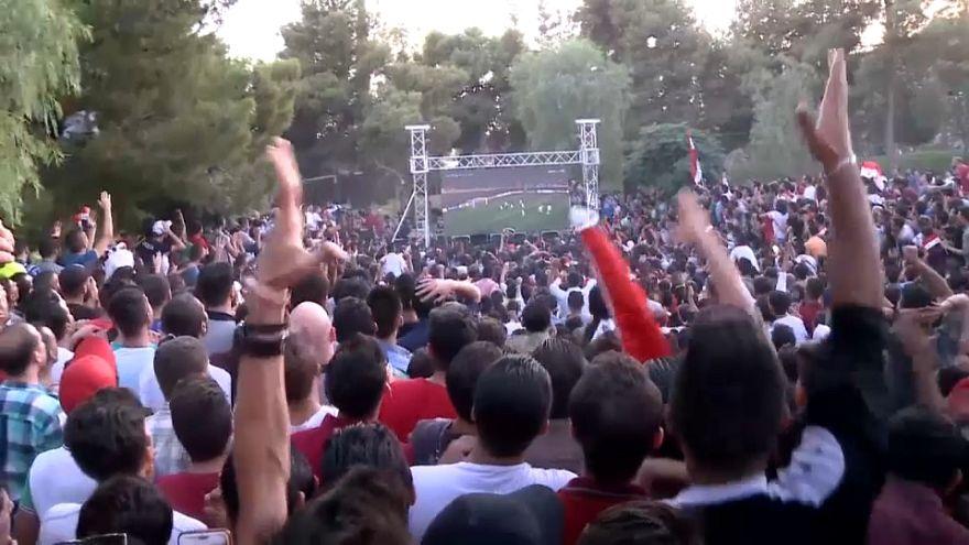 الأسد يهنئ منتخب بلاده بالتأهل
