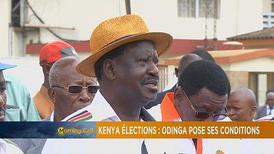 Présidentielle au Kenya: Raila Odinga conditionne sa participation au scrutin [The Morning Call]