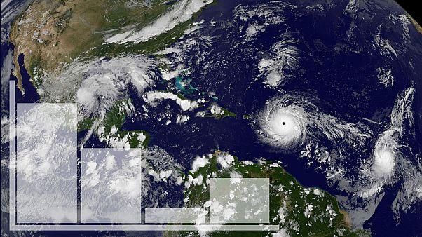 L'ouragan Irma est-il plus puissant que Harvey?