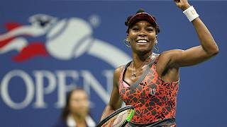 Venus soars, del Potro dares to dream at US Open