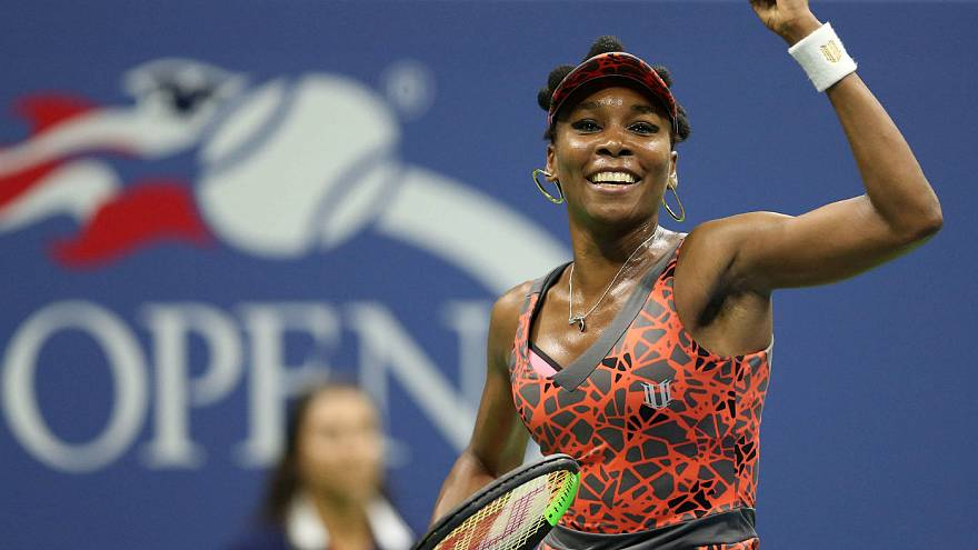 Us Open: Venus Willams in semifinale a 37 anni