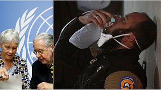 المحققون الأمميون يدينون لأول مرة نظام الأسد باستخدام السارين في خان شيخون