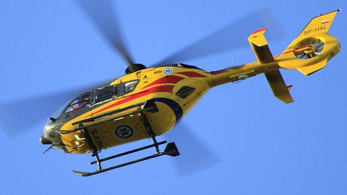 UK seaside tower rescue drama