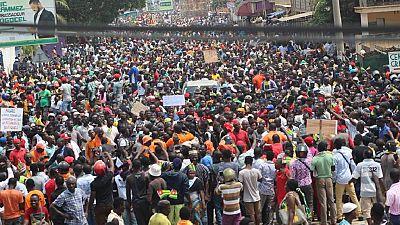 Togo : manifestation monstre à Lomé, au moins 100.000 personnes à l'appel de l'opposition