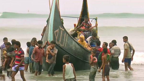 ميانمار تراوغ في تحمل مسؤولية فرار الروهينغيا