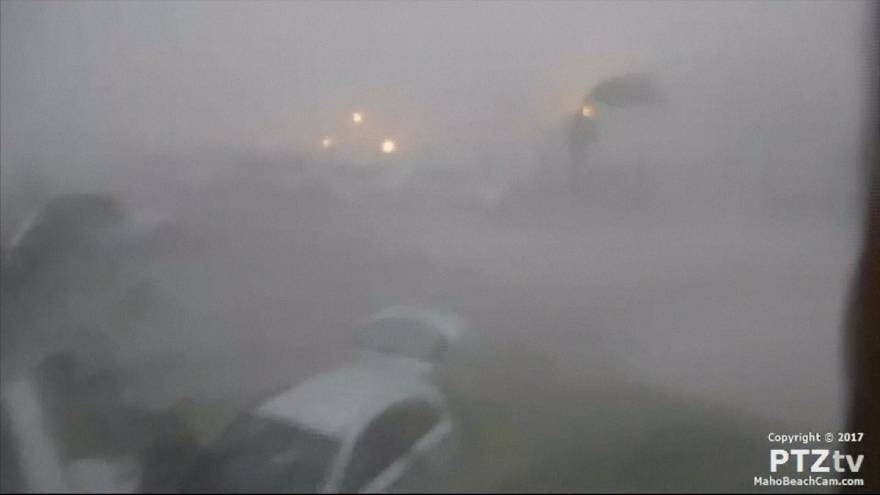 Az Irma hurrikán Saint Martinon