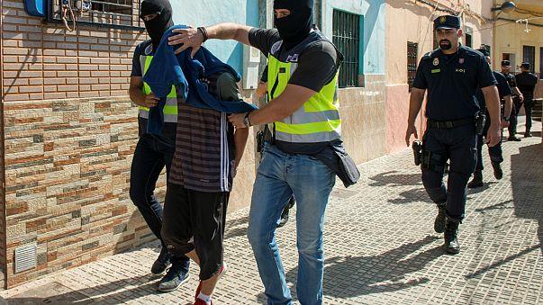 Fransa ve İspanya'da terör operasyonu