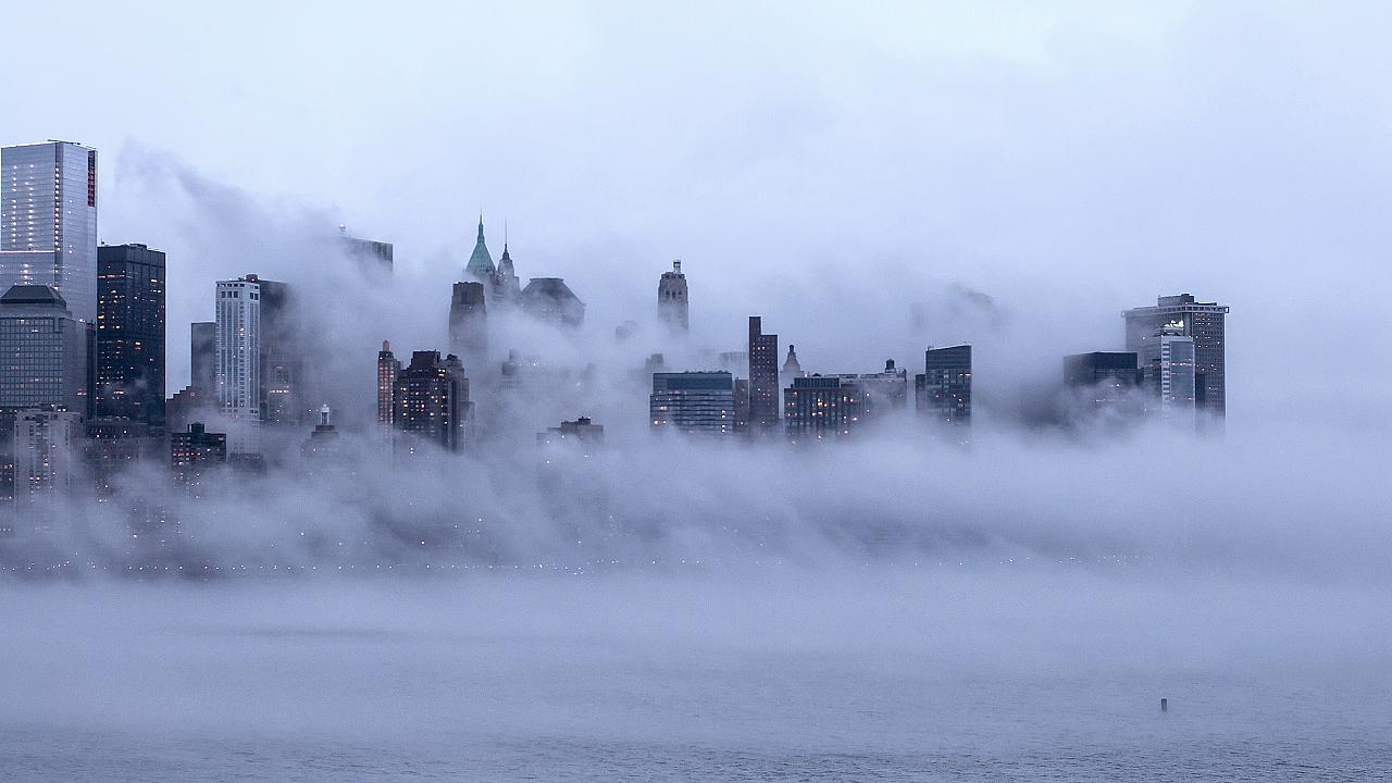 Foggy New York City