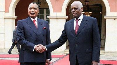 Congo's Sassou hails retiring dos Santos for service to Africa