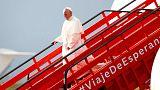 Papa Francis barışa destek için Kolombiya'da