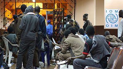 Guinée : 132 migrants guinéens rapatriés de Libye par l'OIM