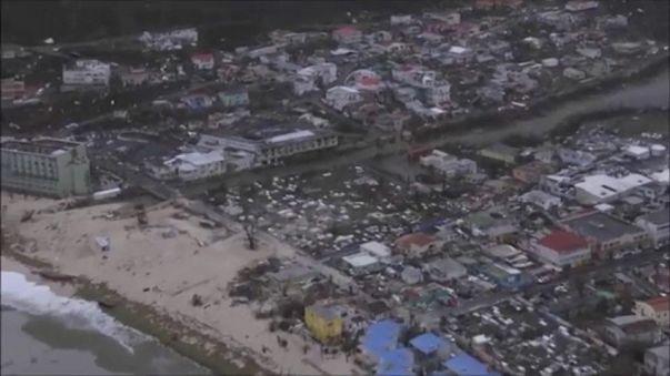 Apokaliptikus állapotok a Francia Antillákon