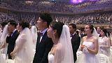 Matrimonio di massa in Corea del Sud
