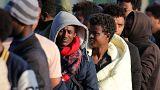 Мигранты устремились из Кале в Брюссель
