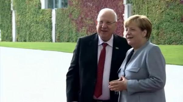 Merkel-Rivlin találkozó Berlinben